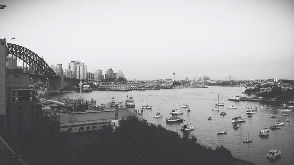 Vscocam Latergram Black & White Sydney