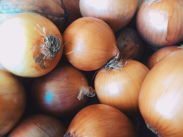 Close-Up Of Onions