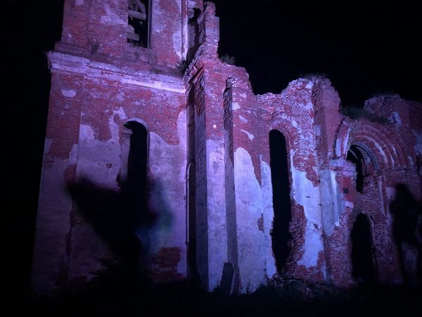 Architecture History The Past Night Built Structure Old No People Religion Obsolete Damaged Deterioration Abandoned Low Angle View Bad Condition Run-down Indoors  Decline Ruined Old Ruin Weathered