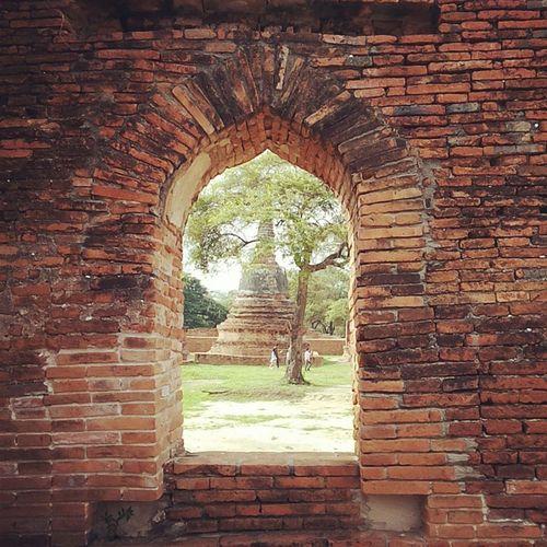 อยุธยาเมืองเก่าของเราเเต่ก่อน... Ancient Architecture Hanging Out Enjoying Life