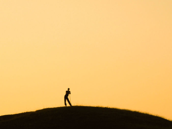 Second Acts Adult Day Hill Landscape Nature One Man Only One Person Only Men Outdoors Scenics Shepherd Side View Silhouette Sky Standing Sunset Go Higher A New Beginning Autumn Mood The Traveler - 2019 EyeEm Awards The Great Outdoors - 2019 EyeEm Awards The Minimalist - 2019 EyeEm Awards