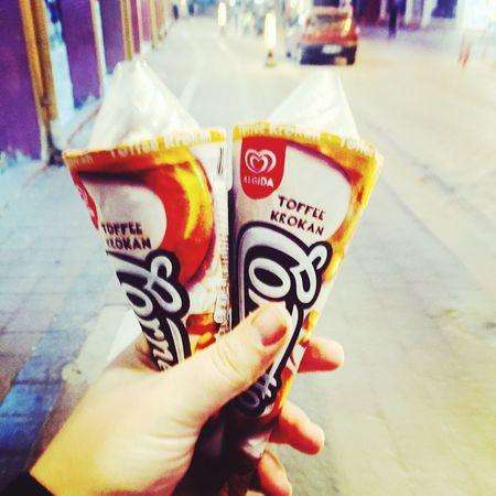 Cornetto Love Ice Cream Happy Nignt Photography