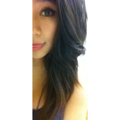 1st picture to post up with no filter & only showing half my face xD lol