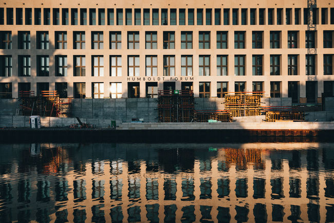 Architecture Building Building Exterior Built Structure City Day Lake Nature No People Office Outdoors Reflection Residential District Sunset Water Waterfront Window