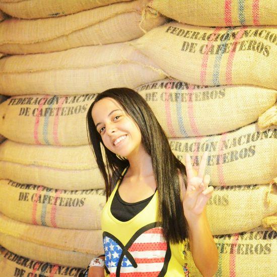 Color Portrait Colombia Parquedelcafe
