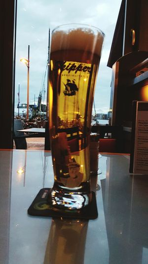 Skipper im Lloyds in Bremerhaven