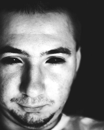 Me :)  Selfie ✌ Portrait Blackandwhite Photo Photography Nikon 35mm Dx 1.8 Nikon Nikon D7000