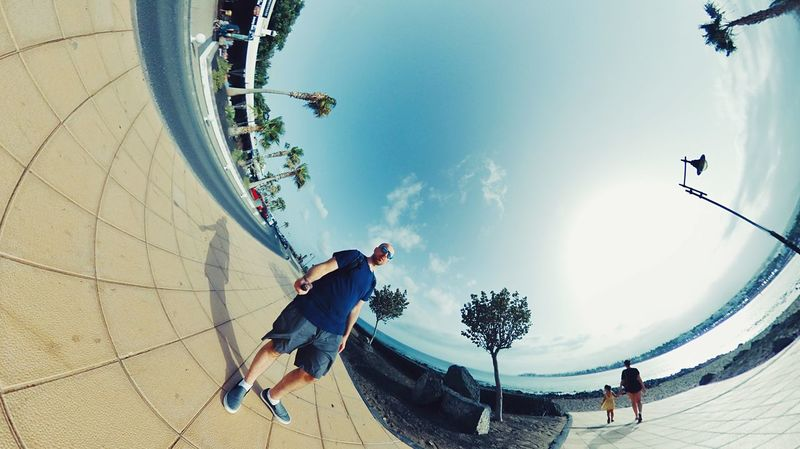 360 Photooftheday Sunny 360 Sky Real People Leisure Activity Nature Lifestyles Men Day Sunlight