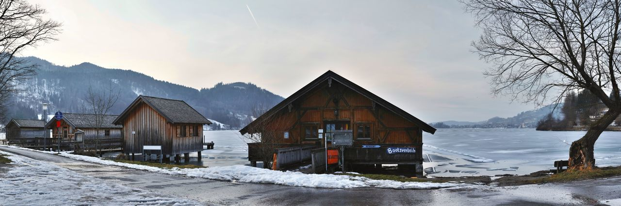 Landscape Winter Snow Cold Temperature Travel Montains    Bavaria Nature LongTerm Lake Long Exposure Panorama Schliersee, Bayern Schliersee EyeEm Selects