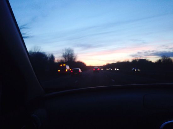 On The Road Driving Going Home Taking Photos First Eyeem Photo Windows Roads Colors Light Evening Evening Sky Valentine's Day  Clouds And Sky Clouds Sky Light Showcase March