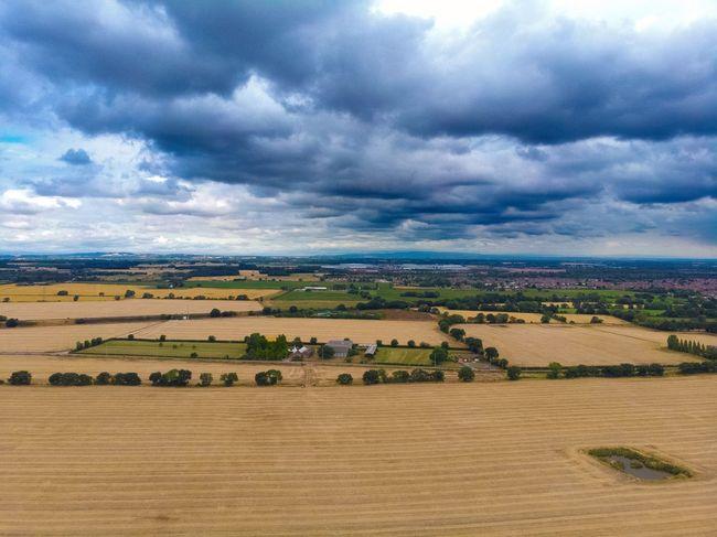 Agriculture Landscape Environment Cloud - Sky Field Land Rural Scene