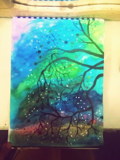One of my paintings . YouCanCallMeAnArtist LifeIsABigJoke