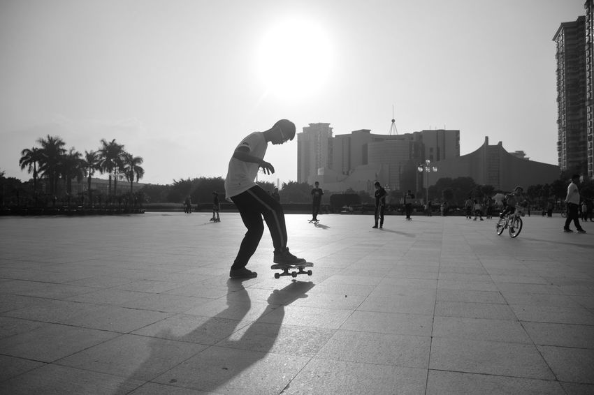 Sport In The City Youth Of TodaySkateboarding Black And White Capture The Moment Sport Light And Shadow Sunshine Streetphotography Streetphoto_bw Sport Time Teenager Jumpshot Capturing Movement Life Style Showcase: February Capturing Moments  Here Belongs To Me