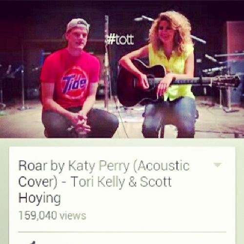 Officialy my new favorite cover...... EVER!!!! Tott Scotthoying Torikelley Ptx pentatonix awesome music youtube cover song acoustic roar katyperry
