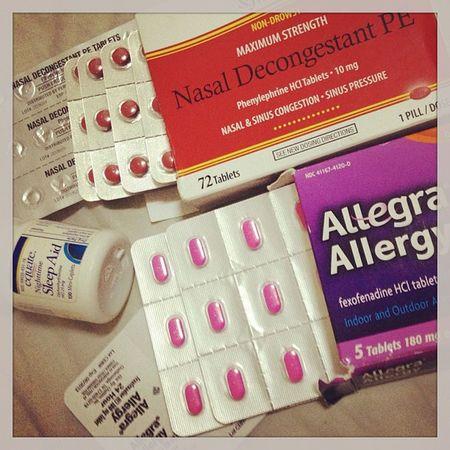 Tambal sa summer nga Mayab-ok. TY Paps sa supply. Rhinitis Antihistamine Allegra Benadryl sleepaid meds