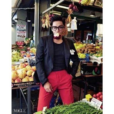Sa Carbon ni sa? Hahaa. Gwapo Top Vogue Bigbang ♡♥