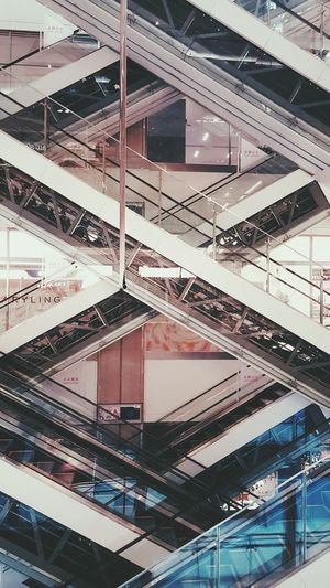 Beijing luxury shopping mall, escalator Escalator Escaleras Shopping Mall Arquitecture Geometry Geometric Shapes The Architect - 2016 EyeEm Awards