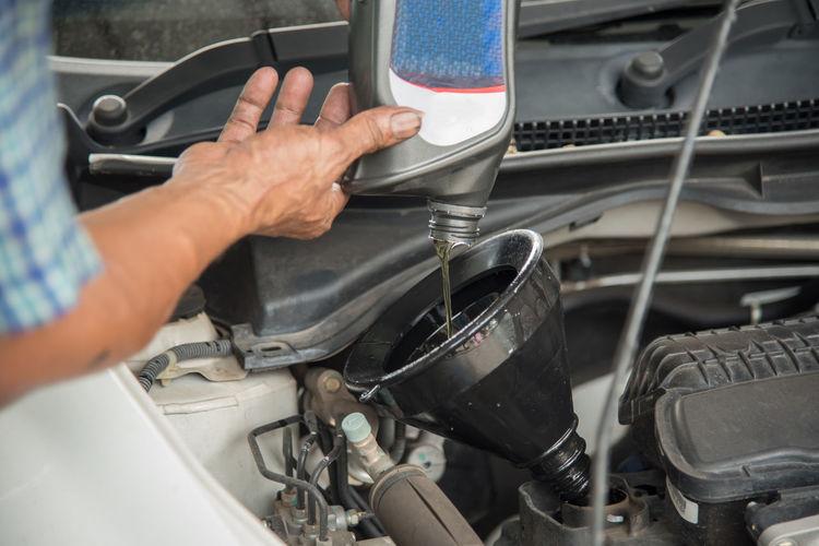 Auto Auto Repair Shop Automobile Car Change Draining Energy Engine Hydraulic Maintenance Mechanic Oil Repairing Service Technology Transport Working