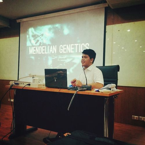 Today I would like to talk about Mendelian genetics.?????