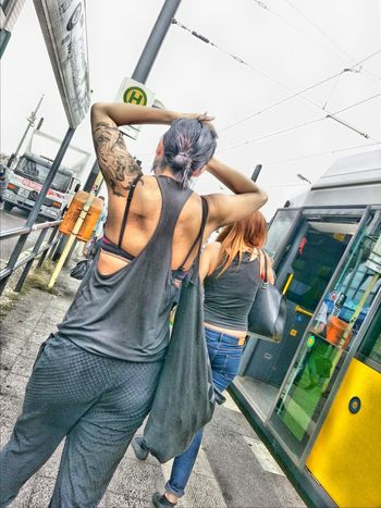 Street Fashion Warschauerbrücke Beautiful Day Tattoomodels