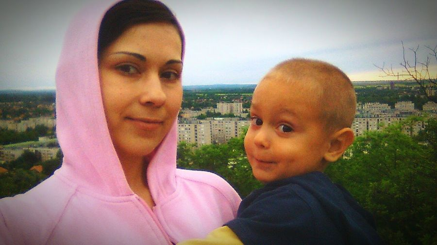 With my Son :)