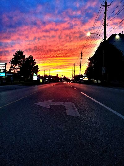 Taking Photos Fire In The Sky Street Sniping G~Sunsets August Nights