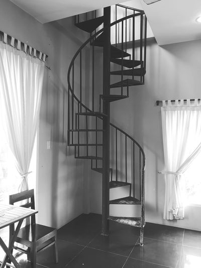Heaven or hell Mood And Tone Climbing Room Leading Heaven Hell Radiator Home Interior Curtain Spiral Staircase Architecture Steps And Staircases Spiral Stairs Staircase Railing Bannister Hand Rail Stairs Stairway Spiral