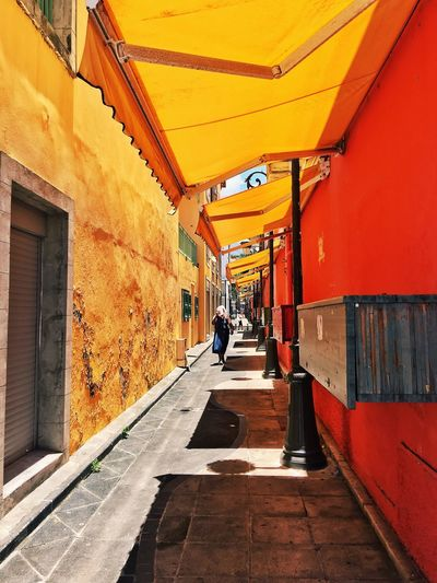 Architecture Guadeloupe Caribbean Colors Colorful Street