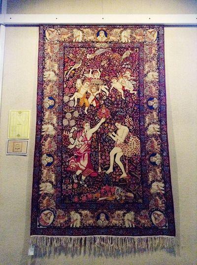Art Rug Hand Made Iran Tehran Beautiful ArtWork