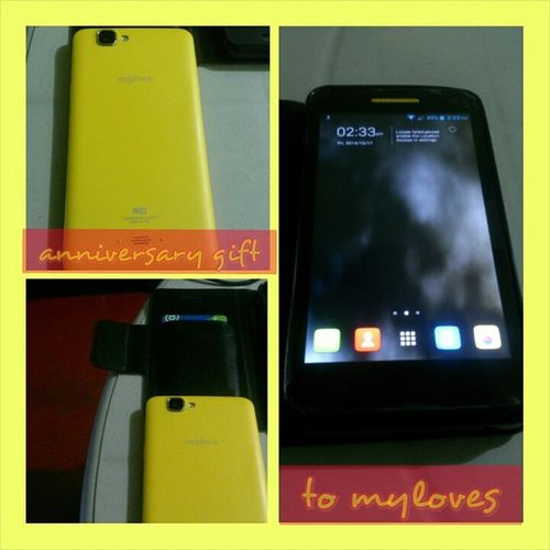 Advance AnniversaryGift Iloveyou Myphone Aguario