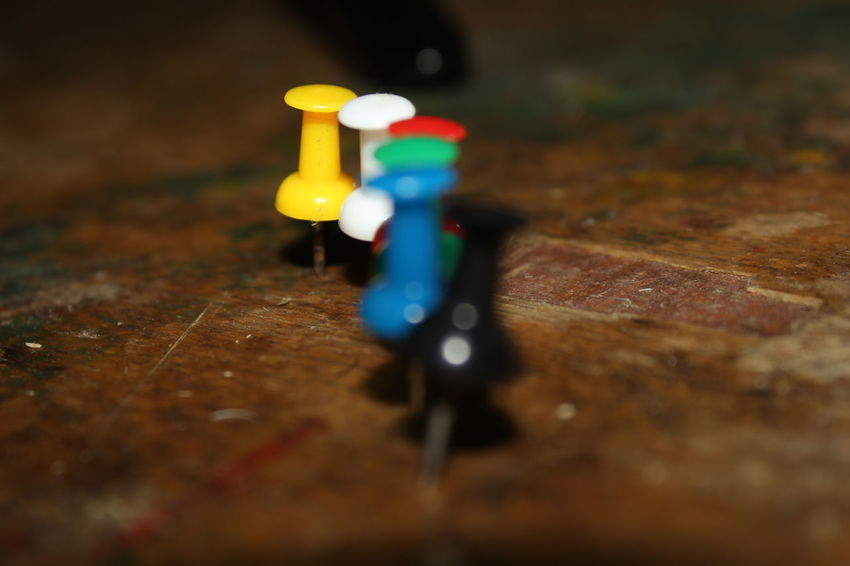 Pinterest Close-up Day Indoors  Model - Object No People Office Supply Pin Push Pins Selective Focus Toy