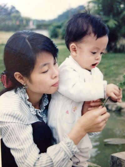When I Was A Baby,2 Years Old, With My Mother.