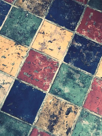 Boden Floor Greek Floor Full Frame Multi Colored Tiled Floor Tile Pattern Backgrounds High Angle View Day No People Water Outdoors Nature Close-up Griechenland