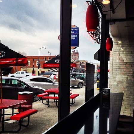 Jimmyjohns Como ColumbiaMo Mizzou restaurant windowview