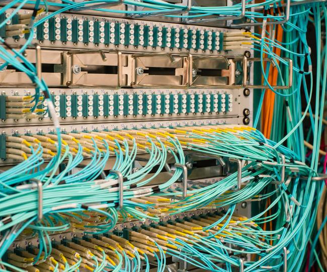 Full frame shot of server
