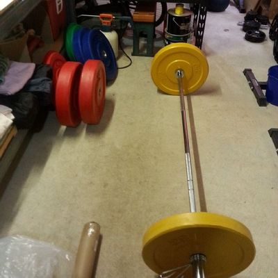 First ever olympic set! Moving up in the world! Crossfit Fitness Strength Strongman Unbroken Crossfitaustralia Sohappy