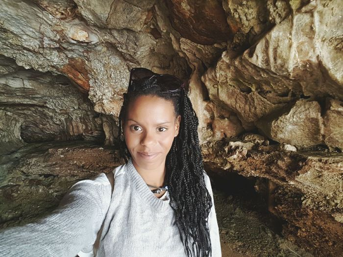 Selfie ✌ That's Me! Enjoying Life Rocks To Discover Cave Rock Formation Portrait Excursion Italy Italia Uniqueness