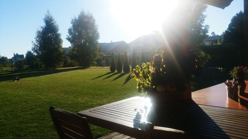 Dream Octobermorning Marupe Home Sweet Home Swissfamily Enjoying The Sun 1stcold