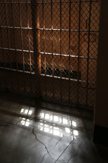 Alcatraz Bars Cage Celebration Cell Cell Door Fence Freedom Lost Indoors  Inmates Jail Jailhouse Jammer  Locked In Lost Freedom No Hope No People Prison Sentenced Shadow Steel And Concrete Sun Rays Sunlight Window