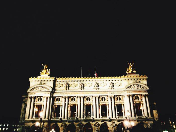 Opéra Paris ParisByNight Opera Garnier Night Lights Night Historical Building Building France 9eme