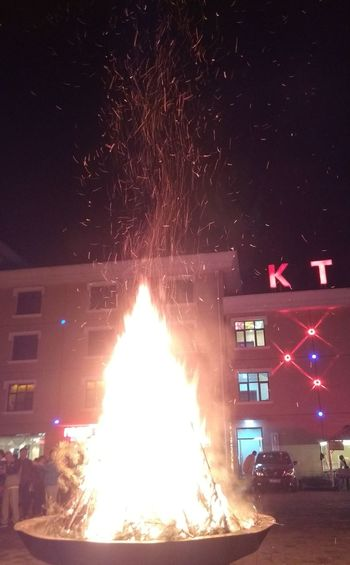 Mix Yourself A Good Time Night Illuminated Sky Heat - Temperature Built Structure Star - Space Outdoors Red Architecture No People City Building Exterior Astronomy fire!
