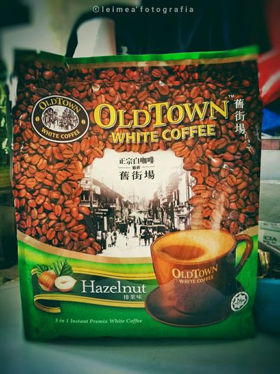 The yummier Old Town White Coffee of Malaysia! The best Hazelnut coffee I've ever tasted! Oldtowncoffee Hazelnutcoffee Coffee Thebestcoffee Bestofmalaysia Mustbuy Photography Snapseed Leimeafotografia Eyeem Philippines
