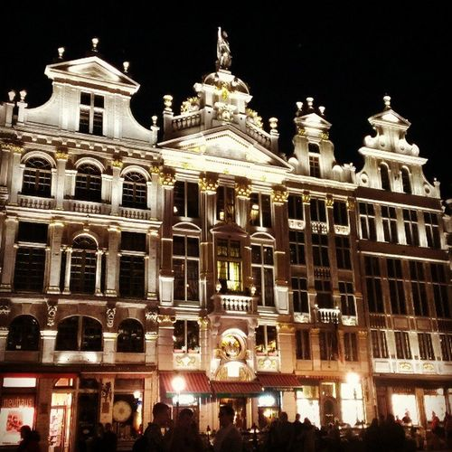 Grandplace Bruxelles Nightview Nightwalk