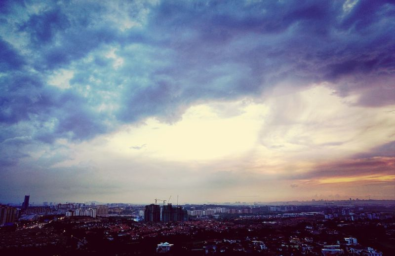 Just before the Sunset ends... EyeEm Best Shots Clouds And Sky Travelphotography