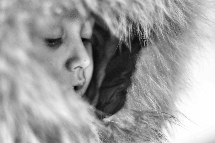 Family❤ B&w Photography Wintertime Cold Winter ❄⛄ Potraits Black And White Snow ❄