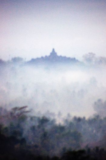 """""""The misty of Borobudur"""" INDONESIA Landscape_Collection Landscape Landscapes Misty Traveling Travel Travel Photography Hello World Nature Photography"""