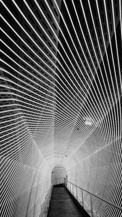 Taking Photos Light And Shadow Tunnel Austria Swarovski Crazy Lights Asymmetry Architecture_bw Blackandwhite