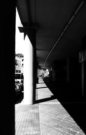 Architecture Black & White Day Light Lights No People Street Street Photography Sun