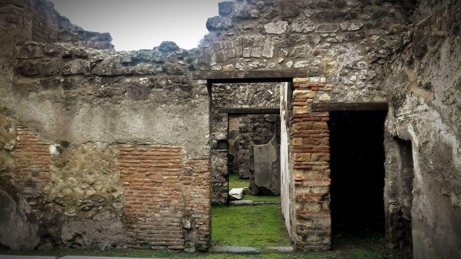 Pompeii Ruins Pompei Scavi No People
