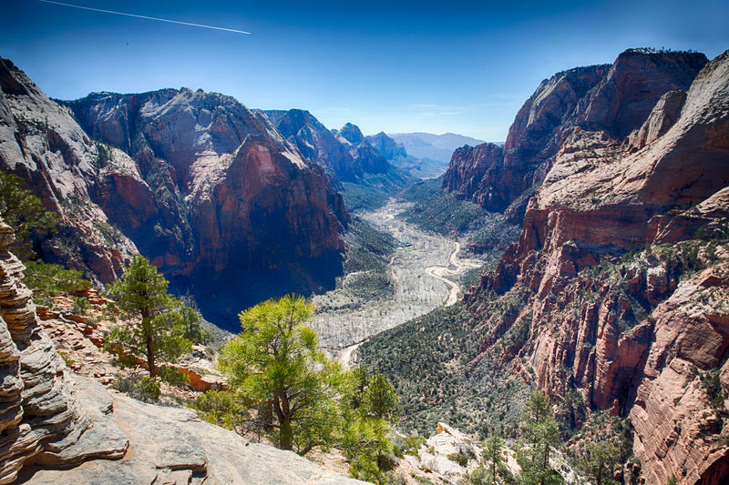 National Park Nature Angels Landing Angels Landing Trail Beauty In Nature Travel Destinations